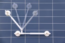 Winkelverstellbarer Handlauf mit Festmass