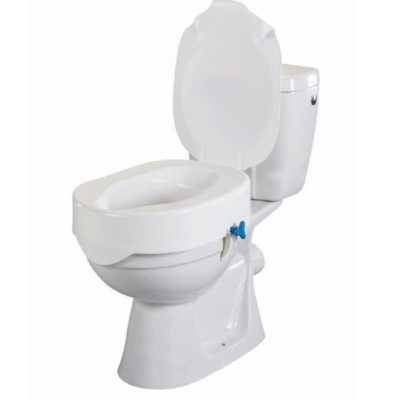 Toilettensitzerhöhung 7cm mit Deckel