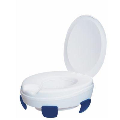 Toilettensitzerhöhung 11cm ClLPPER III mit Deckel