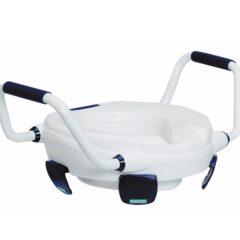 Toilettensitzerhöhung 11cm CLIPPER IV mit Armlehnen