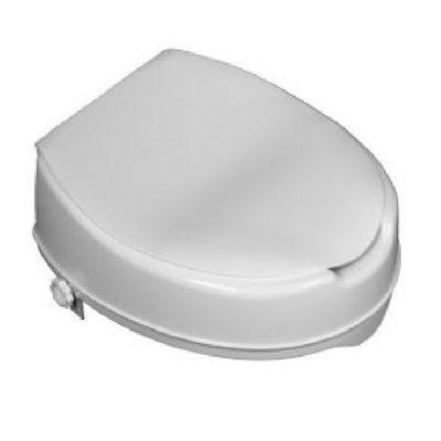 Toilettensitzerhöhung 5 cm mit Deckel