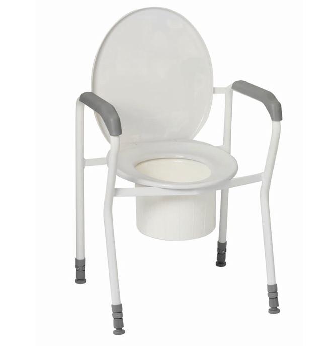 toiletten st tzgestell economy mit armauflagen. Black Bedroom Furniture Sets. Home Design Ideas