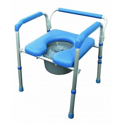 Toilettenstuhl 4 in 1 ALU-Rahmen