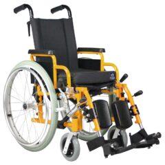 Der Standard-Kinderrollstuhl – G3 Paediatric mit höhenverstellbaren Beinstützen