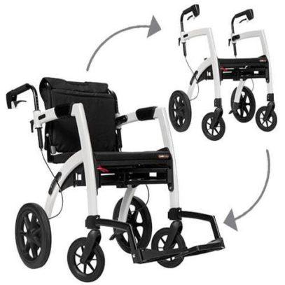 Vom Rollstuhl zum Rollator