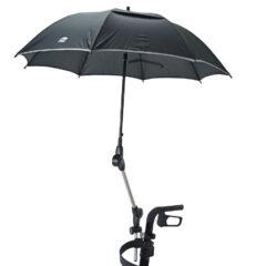 Sonnen- oder Regenschirm für ovales Profil