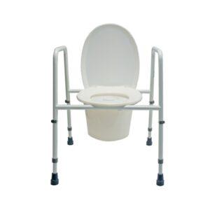 Toilettenstützgestell AQUASAFE mit Sitzbrille